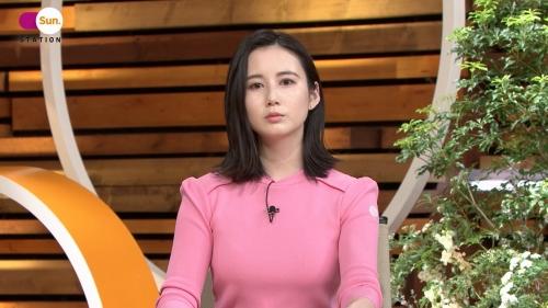森川夕貴アナの着衣ニットおっぱいエロ画像016