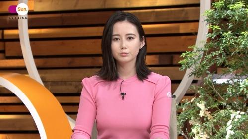 森川夕貴アナの着衣ニットおっぱいエロ画像017