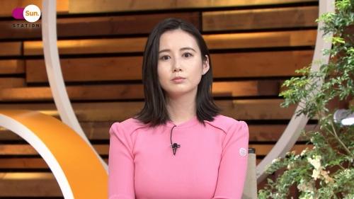 森川夕貴アナの着衣ニットおっぱいエロ画像021