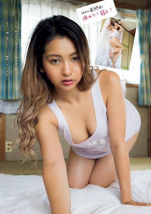 ゆきぽよの2020年9月19日発売『週刊ヤングマガジン』水着グラビアエロ画像008