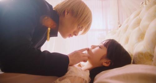 橋本環奈の『かぐや様は告らせたい』キスシーンエロ画像014