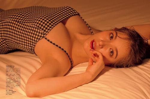 トラウデン直美の胸チラおっぱいグラビアエロ画像010
