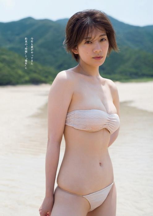 佐藤美希の水着グラビアエロ画像006