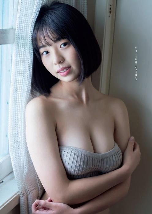 菊地姫奈の水着グラビアエロ画像004