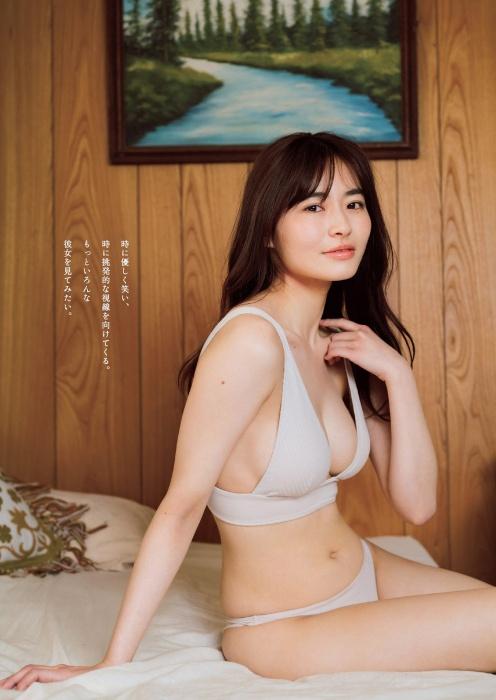 桜田茉央の週プレ水着グラビアエロ画像003