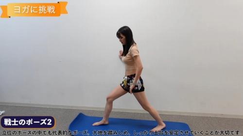 白間美瑠のヨガ動画エロ画像003