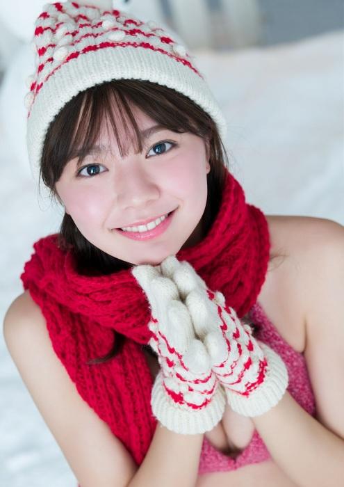 川津明日香の雪グラビアエロ画像010