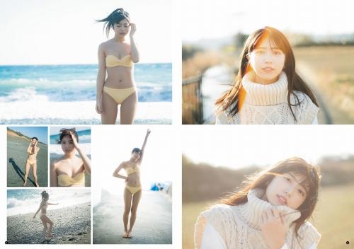 吉田莉桜の水着グラビアエロ画像006