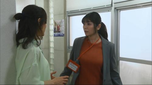 真木よう子の『青のSP』着衣おっぱいエロ画像001