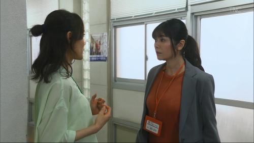 真木よう子の『青のSP』着衣おっぱいエロ画像002
