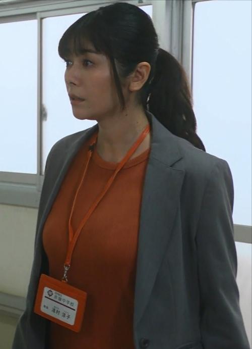 真木よう子の『青のSP』着衣おっぱいエロ画像003