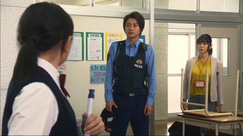 真木よう子の『青のSP』着衣おっぱいエロ画像009