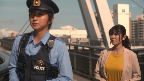 真木よう子の『青のSP』着衣おっぱいエロ画像013