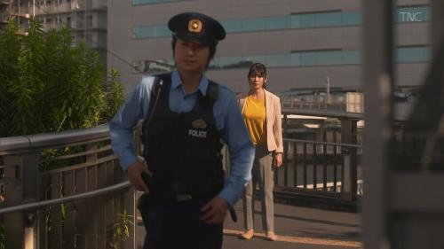 真木よう子の『青のSP』着衣おっぱいエロ画像015