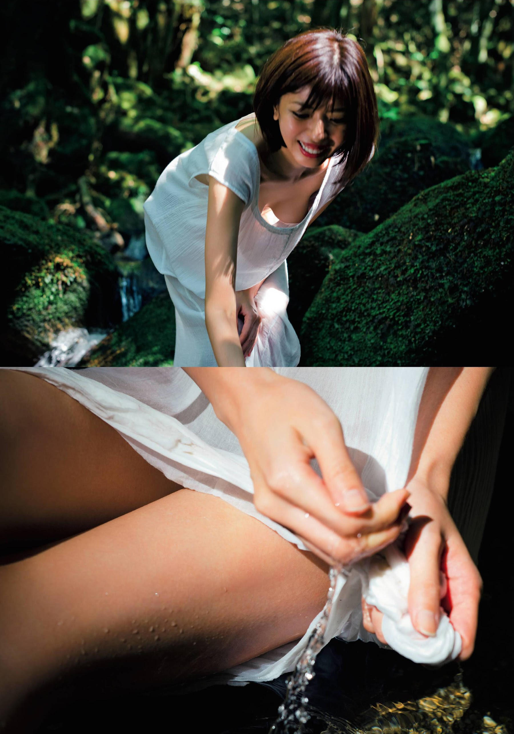 宮地真緒のFRIDAYの乳首透けヌードグラビアエロ画像006