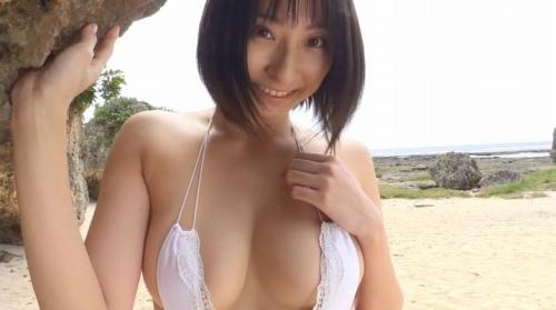 緒方咲のイメージDVDエロ画像035