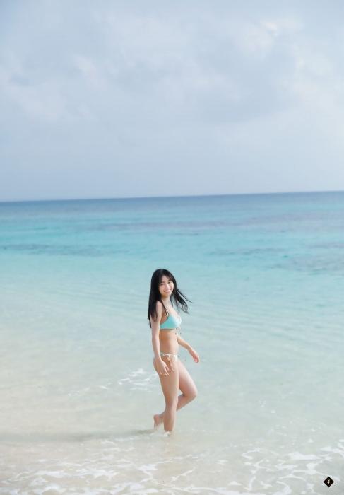 大原優乃の『週刊少年マガジン』13号の水着グラビアエロ画像 画像005