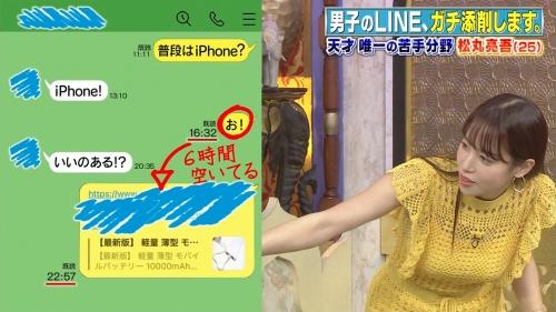 鷲見玲奈アナの黄色衣装の着衣おっぱいエロ画像017