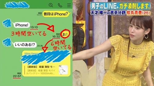 鷲見玲奈アナの黄色衣装の着衣おっぱいエロ画像014