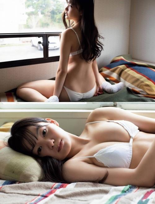 吉澤遥奈の水着グラビアエロ画像002