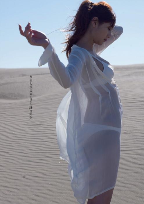 アンジェラ芽衣のゼロイチ美女大集合の週プレグラビアエロ画像002