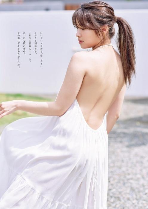 古田愛理のセクシー水着グラビアエロ画像003