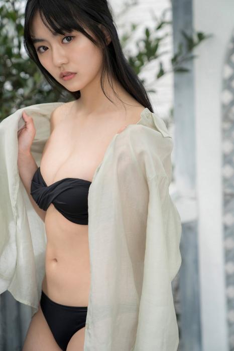 豊田ルナの『ヤンマガWeb』水着グラビアエロ画像009