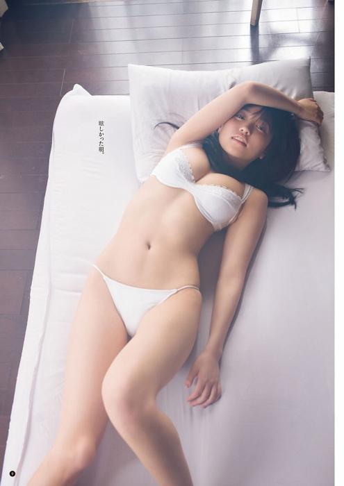 大原優乃の『ヤングチャンピオン』の水着グラビアエロ画像007