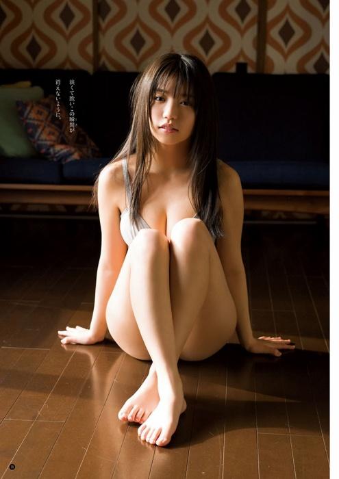 大原優乃の『ヤングチャンピオン』の水着グラビアエロ画像009