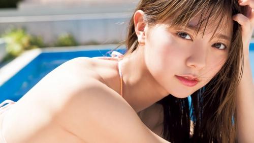 川津明日香のスレンダー美ボディ水着グラビアエロ画像009