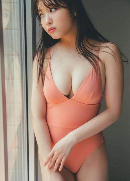 古田愛理の水着グラビアエロ画像007