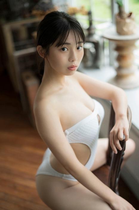 菊地姫奈の妄想水着グラビアエロ画像008