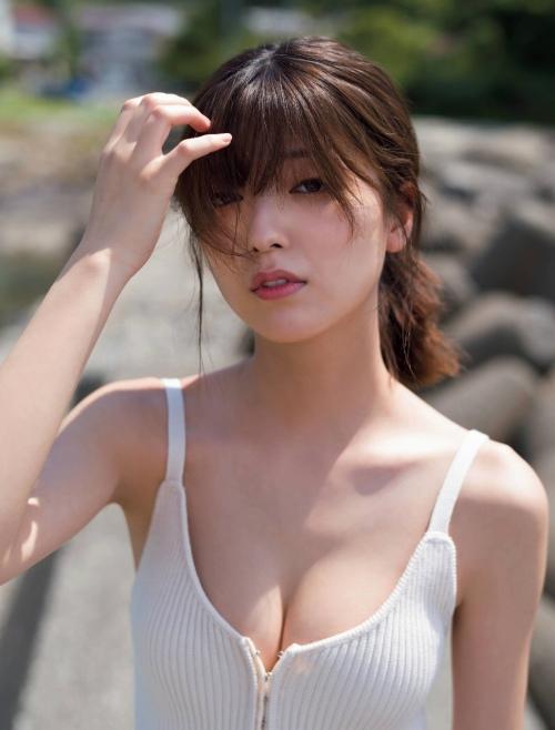 工藤美桜の水着グラビアエロ画像006