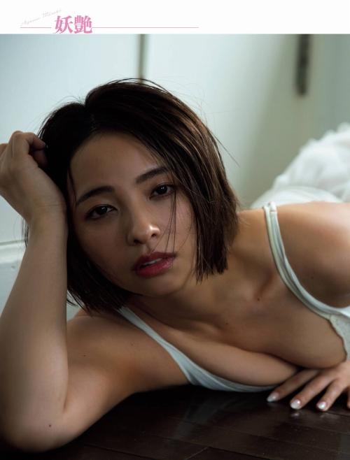 水崎綾女の9年ぶりグラビアエロ画像006