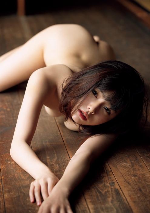 葉月つばさの乳首透けヌードグラビアエロ画像007