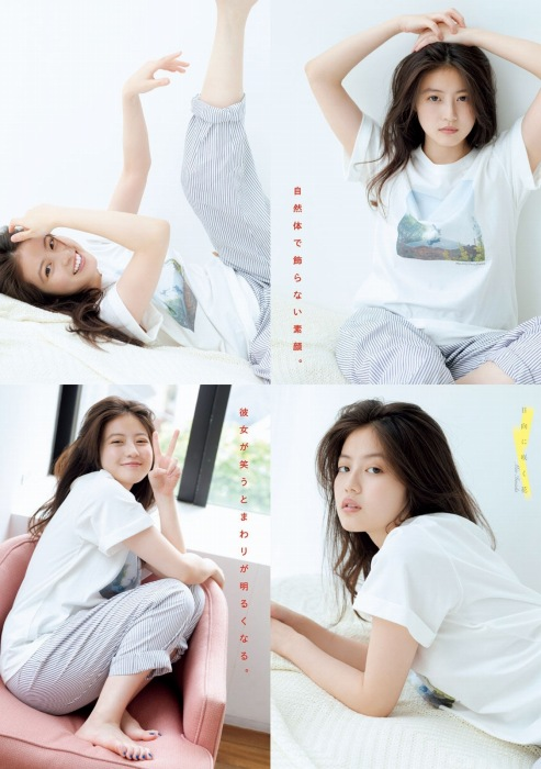 今田美桜の透明感溢れるグラビアエロ画像003