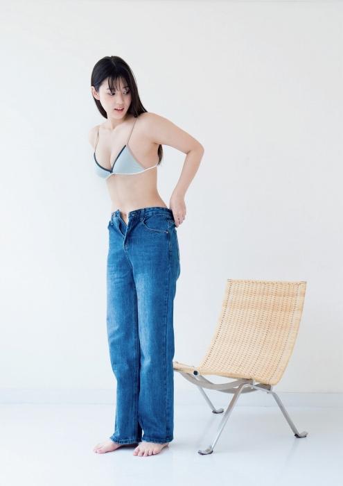 光野有菜の女子マネージャー水着グラビアエロ画像003