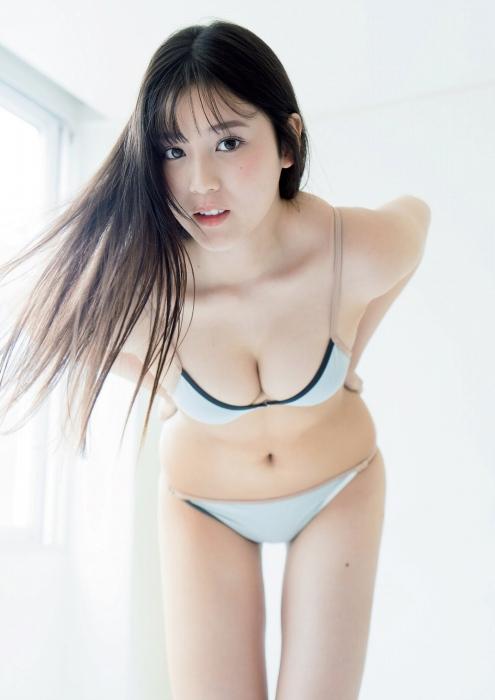 光野有菜の女子マネージャー水着グラビアエロ画像004