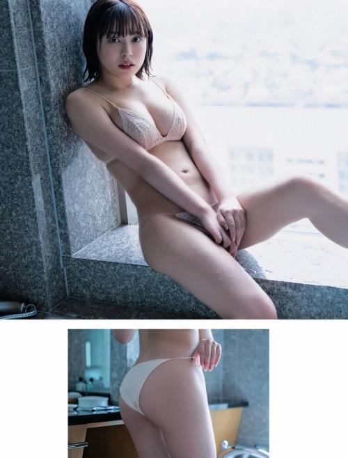 鈴木聖の妄想デートグラビアエロ画像007