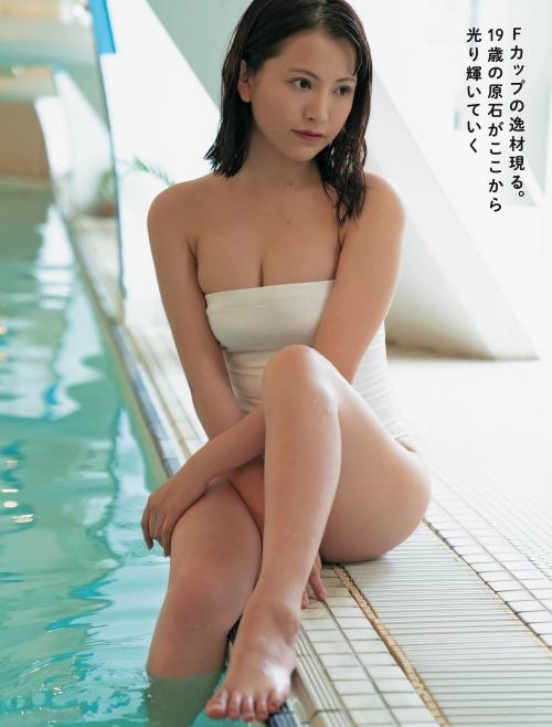 鈴木聖の水着グラビアエロ画像012