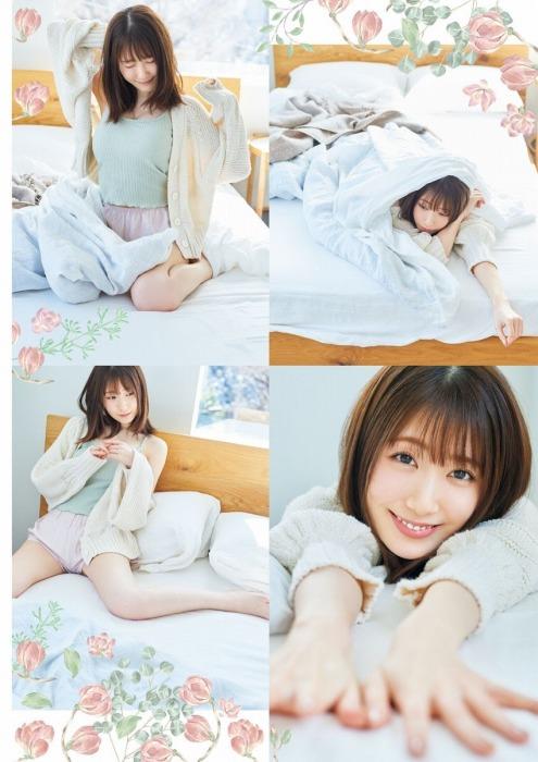 日高里菜の胸チラセクシーグラビアエロ画像003