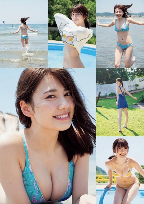 広山楓の水着グラビアエロ画像002