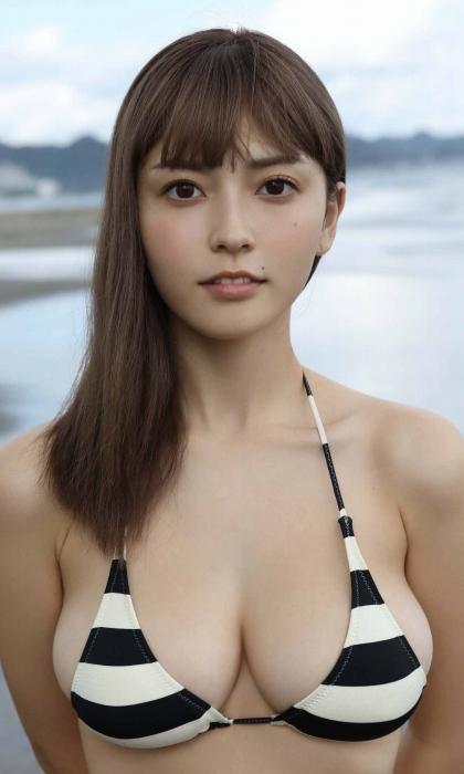 櫻井音乃の水着グラビアエロ画像010