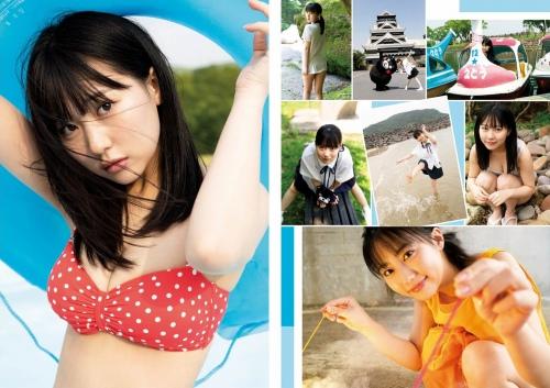 田中美久の写真集の未公開カットグラビアエロ画像003