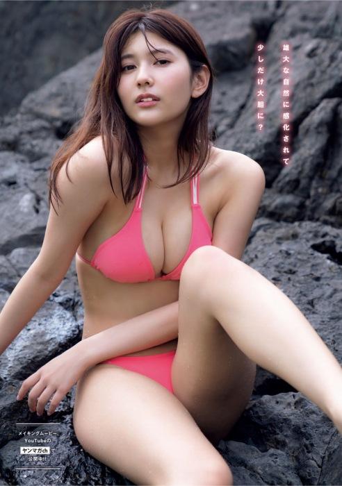 新井遥のファースト写真集グラビアエロ画像004