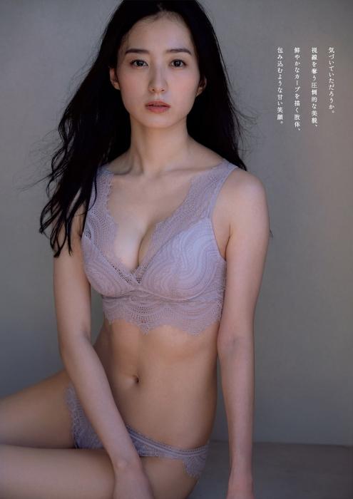 高田里穂のランジェリーグラビアエロ画像003