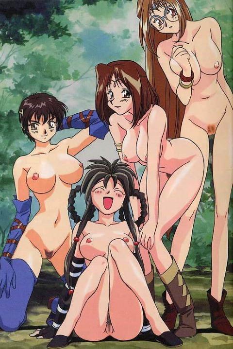 複数の女の子が全裸になってるwww★2次元複数全裸エロ画像(`・ω・´)・14枚目の画像