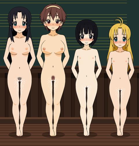 複数の女の子が全裸になってるwww★2次元複数全裸エロ画像(`・ω・´)・38枚目の画像