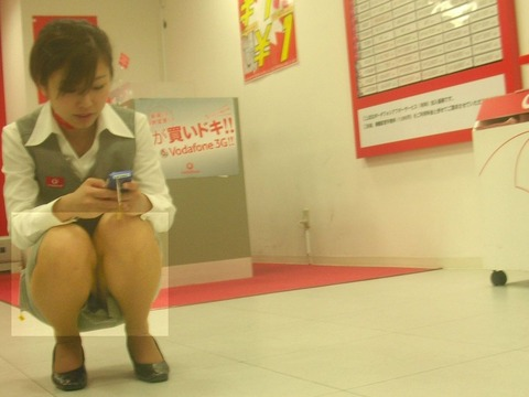 【盗撮】働く女は危険が多い★ワーキング女子のパンチラエロ画像 m9(`・ω・´)・7枚目の画像