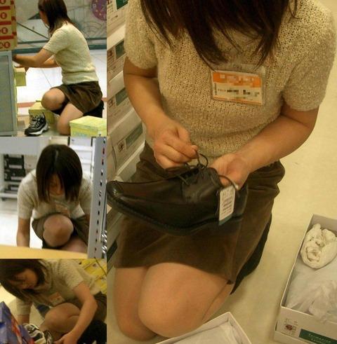 【盗撮】働く女は危険が多い★ワーキング女子のパンチラエロ画像 m9(`・ω・´)・32枚目の画像